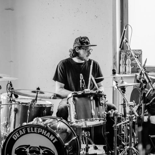 The Rumors, Band, Partyband, Proben, Proberaum, Stephen Schmid, Schlagzeug, Drums