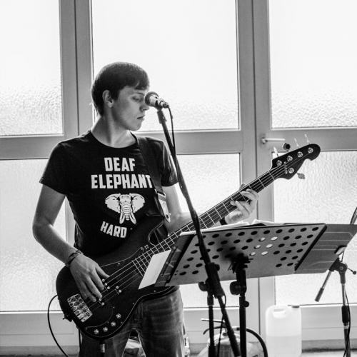 The Rumors, Band, Partyband, Proben, Proberaum, Michael Merz, Bassist